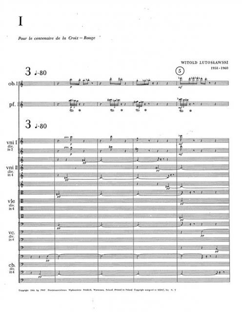 three essays for orchestra